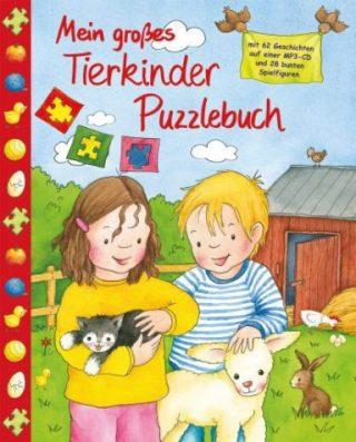 Mein großes Tierkinder Puzzlebuch