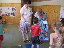 Buchpräsentation im Kindergarten