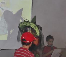 Aufführung bei der Buchpräsentation Skippys Abenteuer