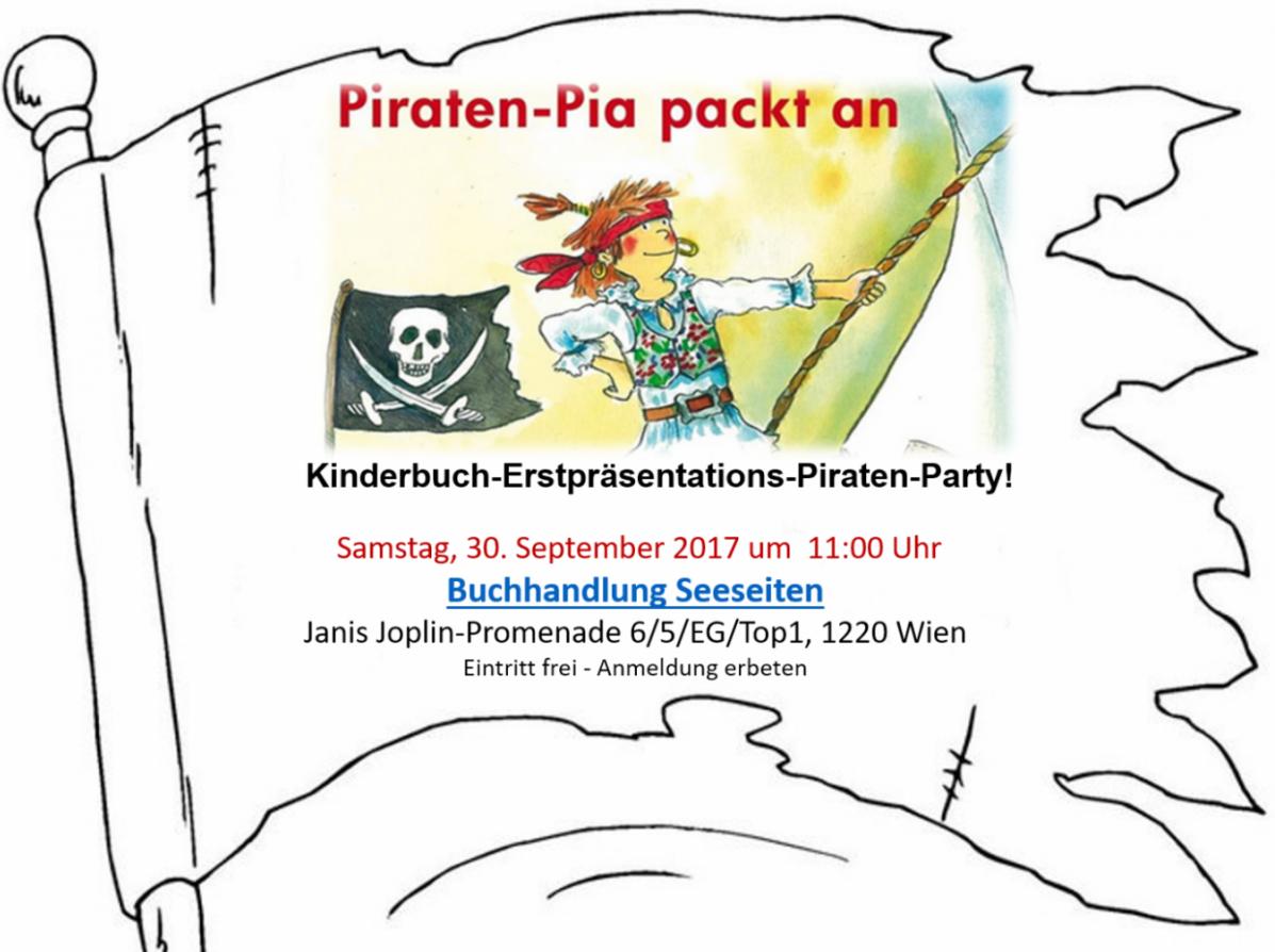 Newsblog – 30.9.2017 – Piraten-Party in der Buchhandlung