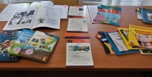 Auswahl meiner Bücher und meiner Schul-Workshops